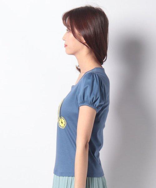 MISS J(ミス ジェイ)/【洗える】レモンサイクルプリント Tシャツ/630739_img01
