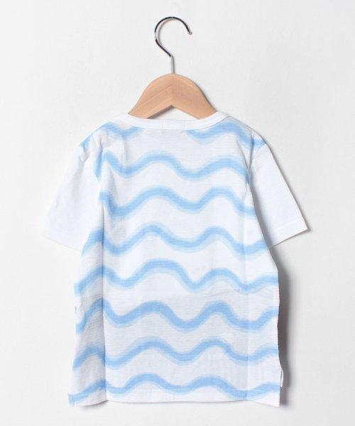 kladskap(クレードスコープ)/裾クジラ切替Tシャツ/5392220_img01