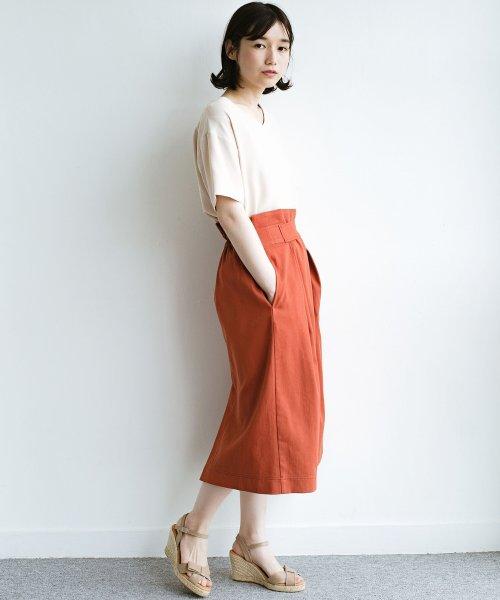 haco!(ハコ)/ボタンがポイントのカジュアルにもきれいにもはけるセミタイトスカート/472018_img04
