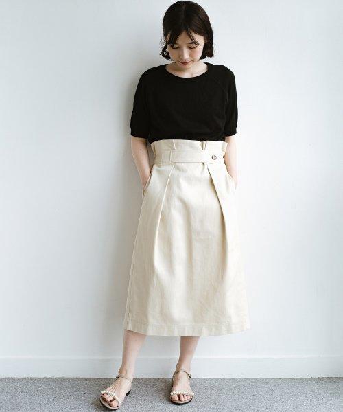 haco!(ハコ)/ボタンがポイントのカジュアルにもきれいにもはけるセミタイトスカート/472018_img05