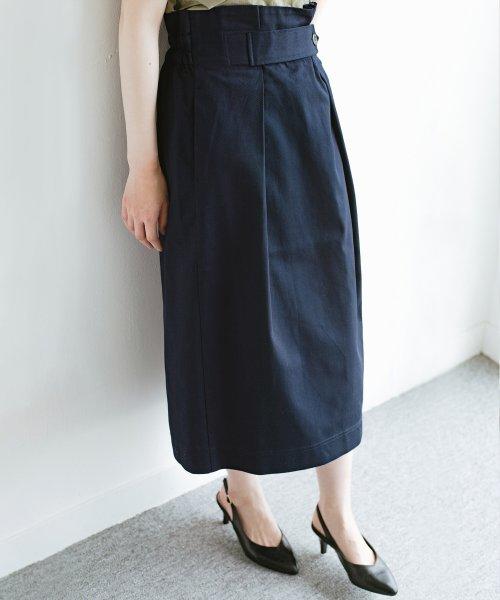 haco!(ハコ)/ボタンがポイントのカジュアルにもきれいにもはけるセミタイトスカート/472018_img06