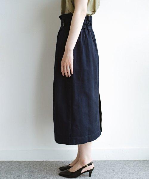 haco!(ハコ)/ボタンがポイントのカジュアルにもきれいにもはけるセミタイトスカート/472018_img07