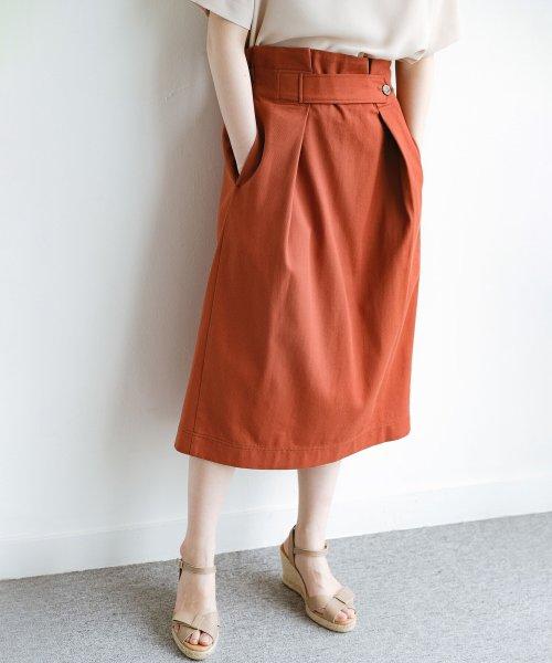 haco!(ハコ)/ボタンがポイントのカジュアルにもきれいにもはけるセミタイトスカート/472018_img12
