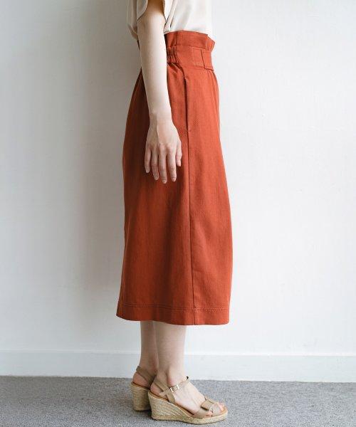 haco!(ハコ)/ボタンがポイントのカジュアルにもきれいにもはけるセミタイトスカート/472018_img13