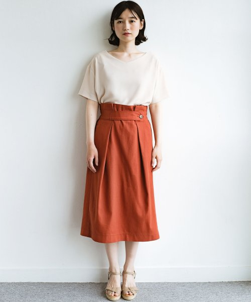 haco!(ハコ)/ボタンがポイントのカジュアルにもきれいにもはけるセミタイトスカート/472018_img15