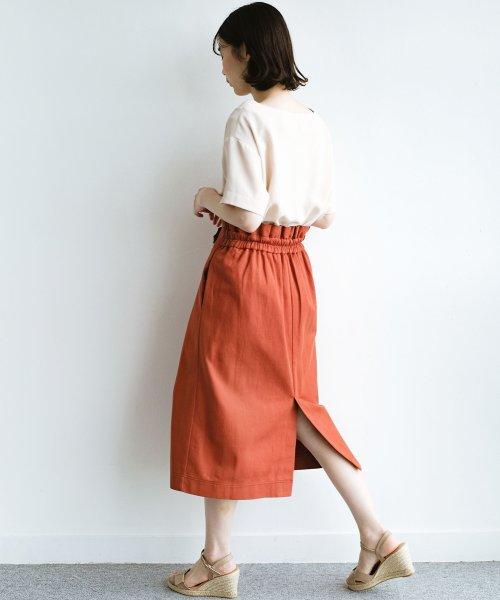 haco!(ハコ)/ボタンがポイントのカジュアルにもきれいにもはけるセミタイトスカート/472018_img16