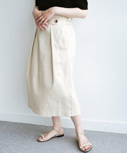 haco!(ハコ)/ボタンがポイントのカジュアルにもきれいにもはけるセミタイトスカート/472018_img17