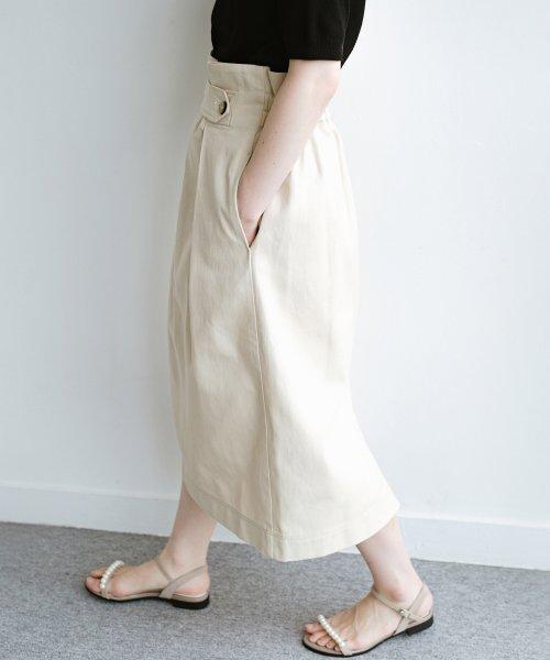haco!(ハコ)/ボタンがポイントのカジュアルにもきれいにもはけるセミタイトスカート/472018_img18