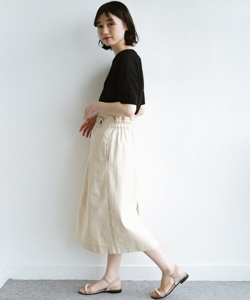 haco!(ハコ)/ボタンがポイントのカジュアルにもきれいにもはけるセミタイトスカート/472018_img19