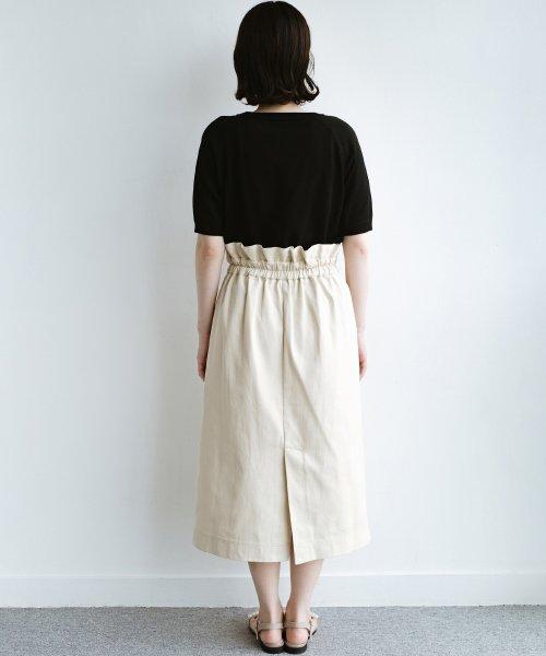 haco!(ハコ)/ボタンがポイントのカジュアルにもきれいにもはけるセミタイトスカート/472018_img20