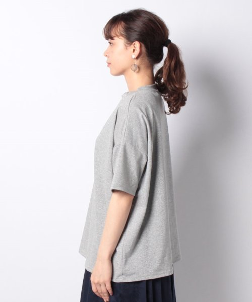 Bou Jeloud(ブージュルード)/◆ゆったりシルエット◆ラメプチハイネックTシャツ/692017_img16