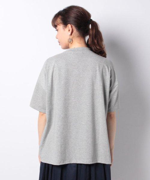 Bou Jeloud(ブージュルード)/◆ゆったりシルエット◆ラメプチハイネックTシャツ/692017_img17