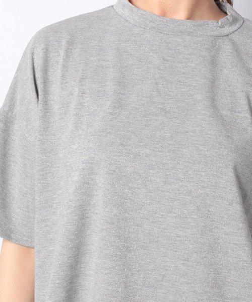 Bou Jeloud(ブージュルード)/◆ゆったりシルエット◆ラメプチハイネックTシャツ/692017_img18