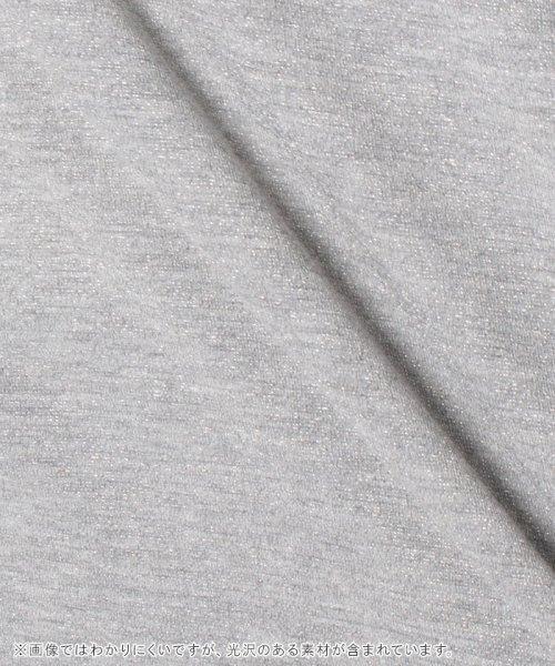 Bou Jeloud(ブージュルード)/◆ゆったりシルエット◆ラメプチハイネックTシャツ/692017_img19