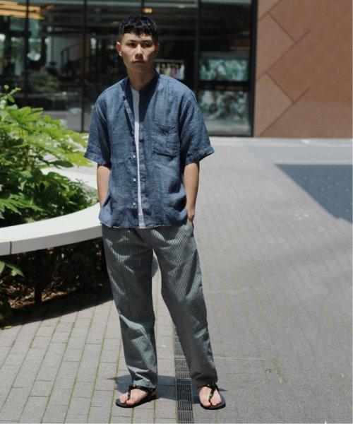 JOURNAL STANDARD relume Men's(ジャーナルスタンダード レリューム メンズ)/Linen Panama バンドカラーシャツ/19051464310010_img03