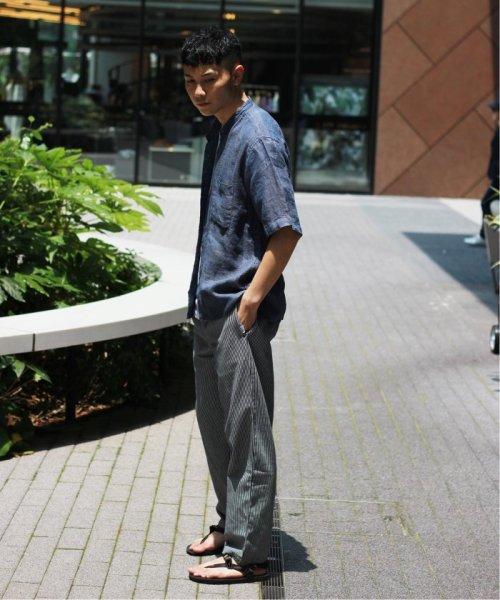 JOURNAL STANDARD relume Men's(ジャーナルスタンダード レリューム メンズ)/Linen Panama バンドカラーシャツ/19051464310010_img04
