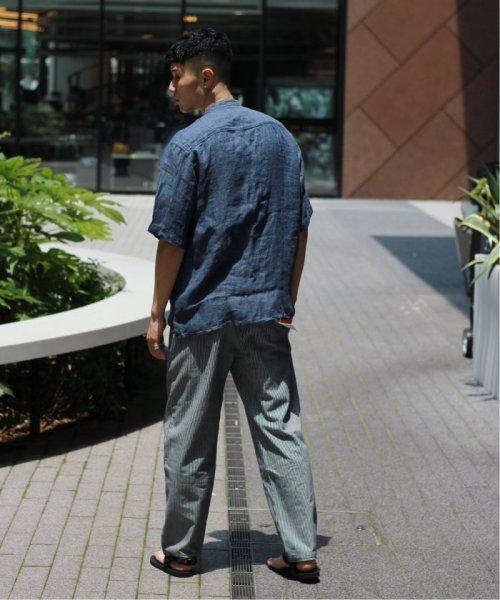 JOURNAL STANDARD relume Men's(ジャーナルスタンダード レリューム メンズ)/Linen Panama バンドカラーシャツ/19051464310010_img05