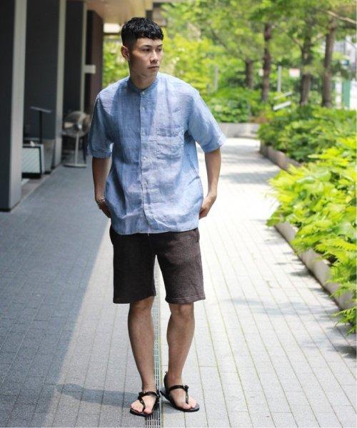 JOURNAL STANDARD relume Men's(ジャーナルスタンダード レリューム メンズ)/Linen Panama バンドカラーシャツ/19051464310010_img11