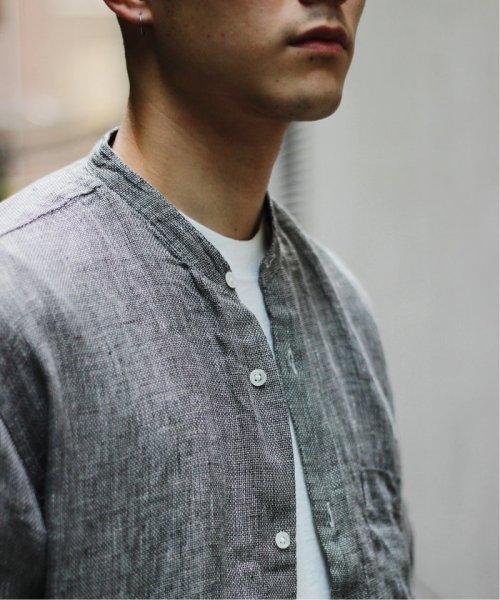 JOURNAL STANDARD relume Men's(ジャーナルスタンダード レリューム メンズ)/Linen Panama バンドカラーシャツ/19051464310010_img13