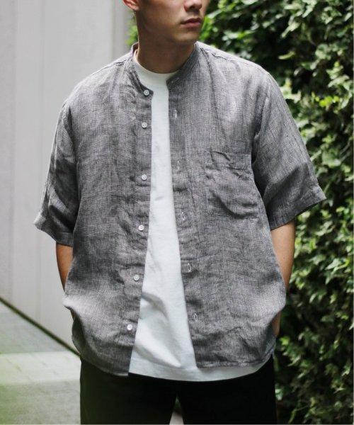 JOURNAL STANDARD relume Men's(ジャーナルスタンダード レリューム メンズ)/Linen Panama バンドカラーシャツ/19051464310010_img15