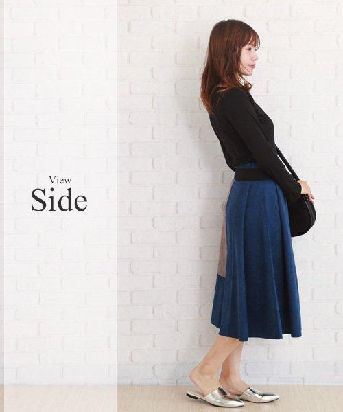Afelice(アフェリーチェ)/スカートトップスセット 大人 かわいい 韓国 ファッション レディース 【A/W】【ra-2102】/ra-2102_img07
