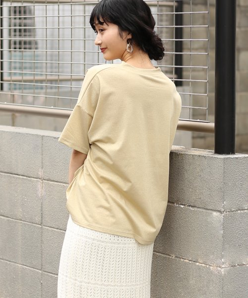 Bou Jeloud(ブージュルード)/◆ゆったりシルエット◆ラメプチハイネックTシャツ/692017_img04