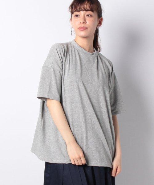 Bou Jeloud(ブージュルード)/◆ゆったりシルエット◆ラメプチハイネックTシャツ/692017_img23