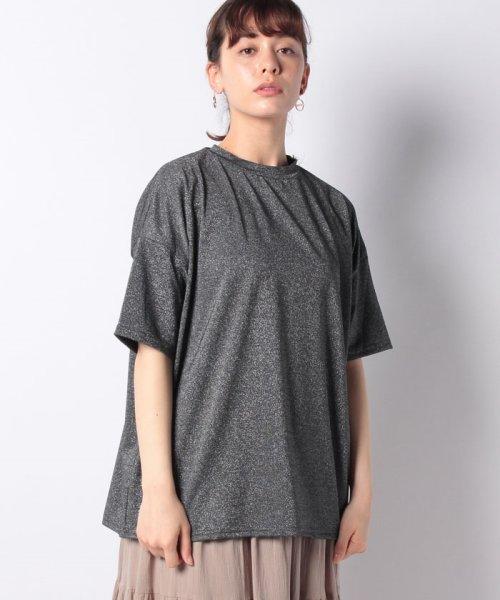 Bou Jeloud(ブージュルード)/◆ゆったりシルエット◆ラメプチハイネックTシャツ/692017_img26