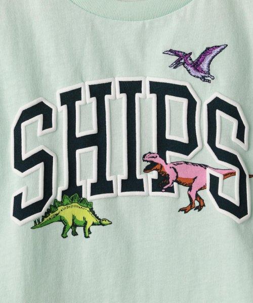 SHIPS KIDS(シップスキッズ)/SHIPS KIDS:ロゴ×恐竜 プリント TEE(80~90cm)/512320411_img06