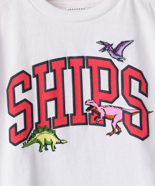 SHIPS KIDS(シップスキッズ)/SHIPS KIDS:ロゴ×恐竜 プリント TEE(80~90cm)/512320411_img07