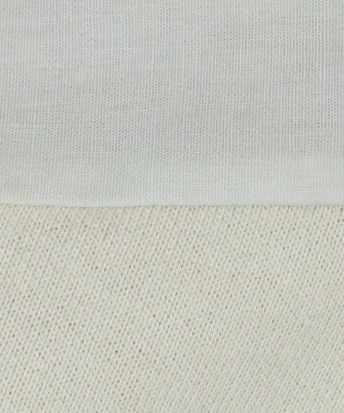 LASUD(ラシュッド)/【ラディエイト RADIATE】ハーフタックスリーブ 布帛切替 スウェット プルオーバー/011202153_img12