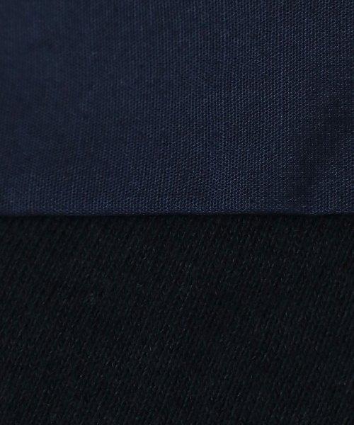 LASUD(ラシュッド)/【ラディエイト RADIATE】ハーフタックスリーブ 布帛切替 スウェット プルオーバー/011202153_img13