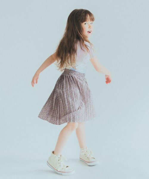 THE SHOP TK(KID)(ザ ショップ ティーケー)/【100cm~140cm/ママおそろい】プリントプリーツスカート/20190123866508_img09