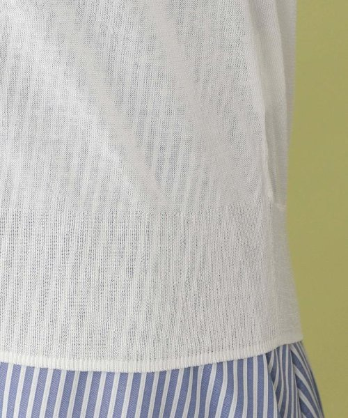 MACKINTOSH PHILOSOPHY(マッキントッシュ フィロソフィー)/【ウォッシャブル】コットンアセテート ドルマンカーディガン/H5N34165--_img18