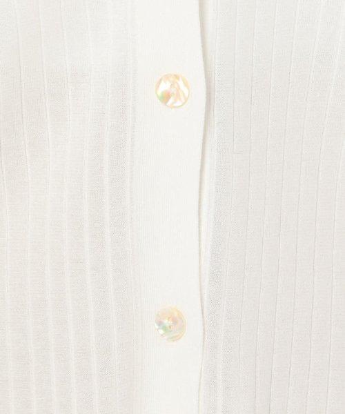 NOLLEY'S sophi(ノーリーズソフィー)/【TVドラマ着用】【吉高由里子さんドラマ着用】ワイドリブゆったりVネックカーディガン/9-0030-3-02-005_img07