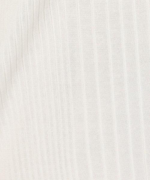 NOLLEY'S sophi(ノーリーズソフィー)/【TVドラマ着用】【吉高由里子さんドラマ着用】ワイドリブゆったりVネックカーディガン/9-0030-3-02-005_img08