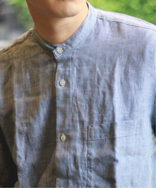 JOURNAL STANDARD relume Men's(ジャーナルスタンダード レリューム メンズ)/Linen Panama バンドカラーシャツ/19051464310010_img19