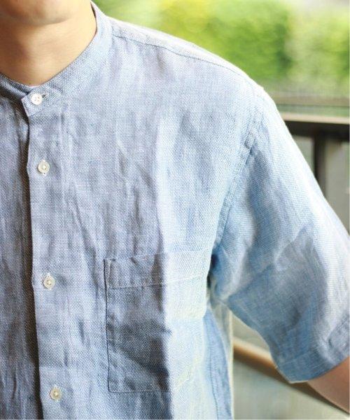 JOURNAL STANDARD relume Men's(ジャーナルスタンダード レリューム メンズ)/Linen Panama バンドカラーシャツ/19051464310010_img20
