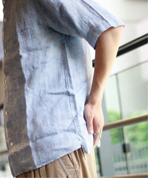 JOURNAL STANDARD relume Men's(ジャーナルスタンダード レリューム メンズ)/Linen Panama バンドカラーシャツ/19051464310010_img21
