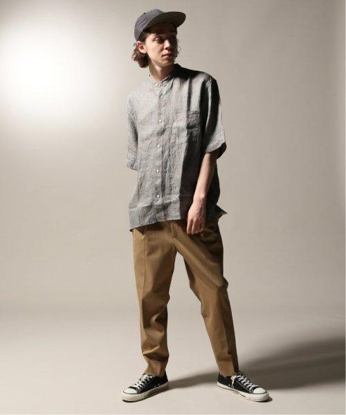 JOURNAL STANDARD relume Men's(ジャーナルスタンダード レリューム メンズ)/Linen Panama バンドカラーシャツ/19051464310010_img22