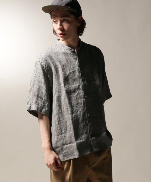 JOURNAL STANDARD relume Men's(ジャーナルスタンダード レリューム メンズ)/Linen Panama バンドカラーシャツ/19051464310010_img23