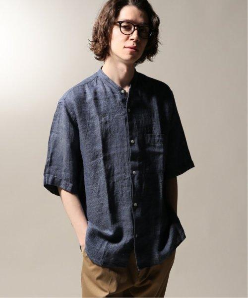JOURNAL STANDARD relume Men's(ジャーナルスタンダード レリューム メンズ)/Linen Panama バンドカラーシャツ/19051464310010_img24