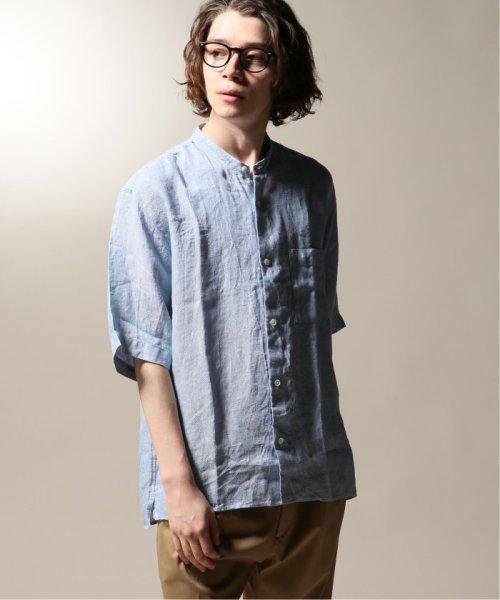 JOURNAL STANDARD relume Men's(ジャーナルスタンダード レリューム メンズ)/Linen Panama バンドカラーシャツ/19051464310010_img25