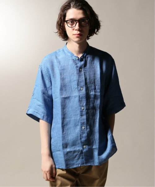 JOURNAL STANDARD relume Men's(ジャーナルスタンダード レリューム メンズ)/Linen Panama バンドカラーシャツ/19051464310010_img26