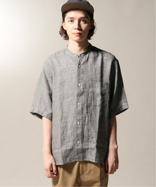 JOURNAL STANDARD relume Men's(ジャーナルスタンダード レリューム メンズ)/Linen Panama バンドカラーシャツ/19051464310010_img27