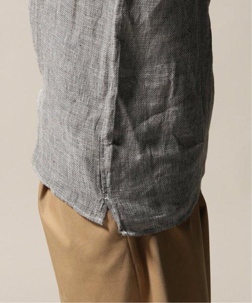 JOURNAL STANDARD relume Men's(ジャーナルスタンダード レリューム メンズ)/Linen Panama バンドカラーシャツ/19051464310010_img28