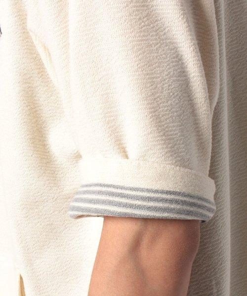 MARUKAWA(マルカワ)/【SMITH'S AMERICAN】 大きいサイズ メンズ スミスアメリカン 5分袖 フルジップ ジップ パーカー/6852280568_img09