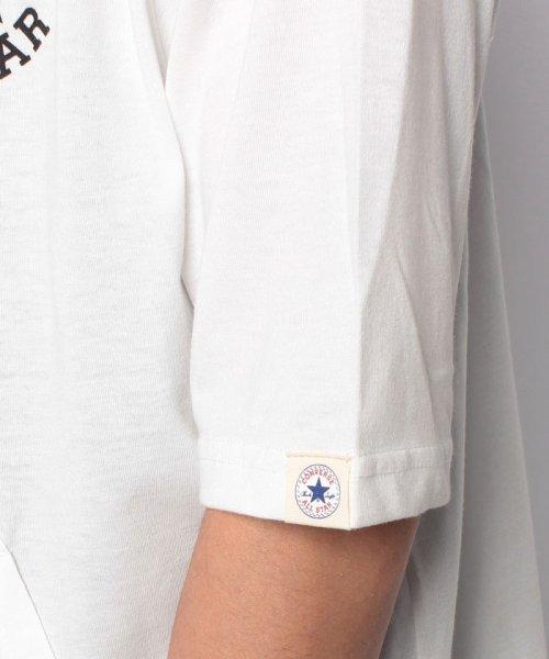MARUKAWA(マルカワ)/【CONVERSE】 大きいサイズ メンズ コンバース 5分袖 天竺 フルジップ パーカー/6852280569_img05