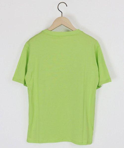 LASUD(ラシュッド)/【ラディエイト RADIATE】トリコロール プリントデザイン 半袖 Tシャツ/011251316_img01