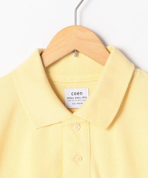 coen(コーエン)/【定番アイテム復刻】ベア刺繍ポロシャツ/76256039014_img07